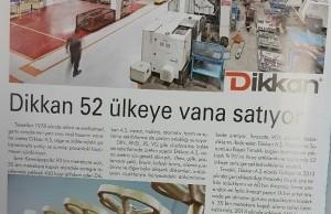Dikkan Exports Valves To 52 Countries